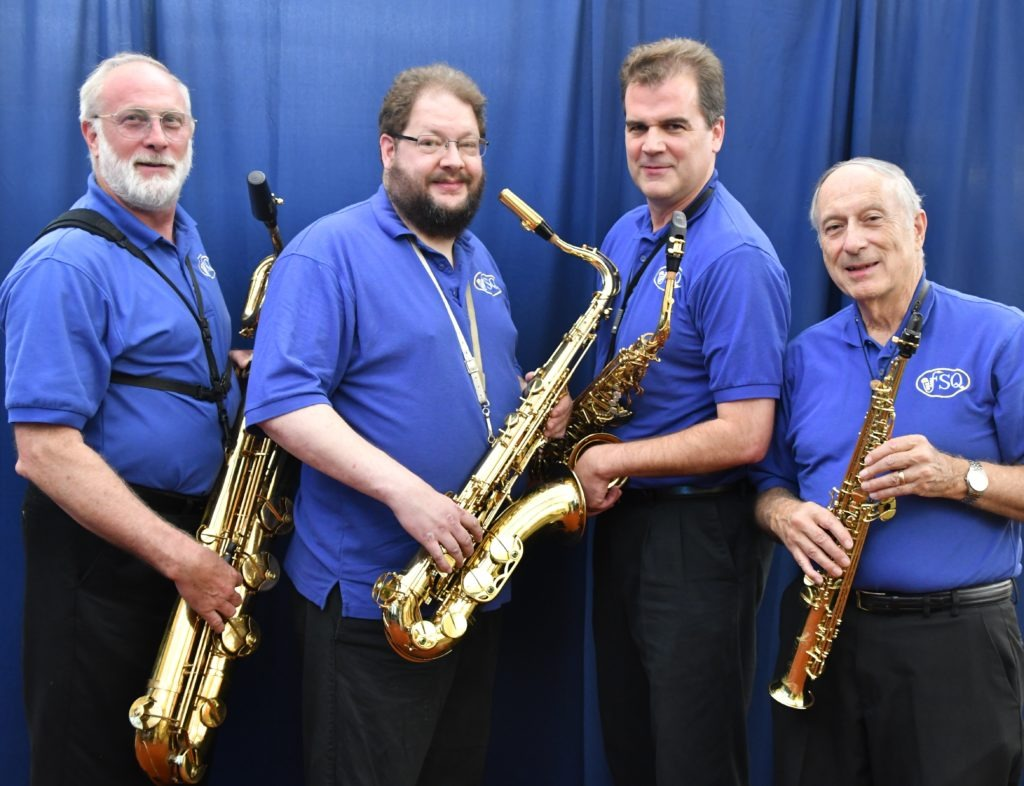 Fairfax Saxophone Quartet Performs at Greek Independence Day Festival!