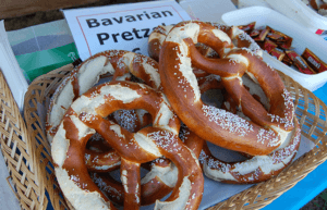 Pretzels at the Oktoberfest