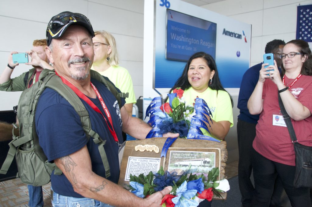 Honor Flights at Reagan National Airport