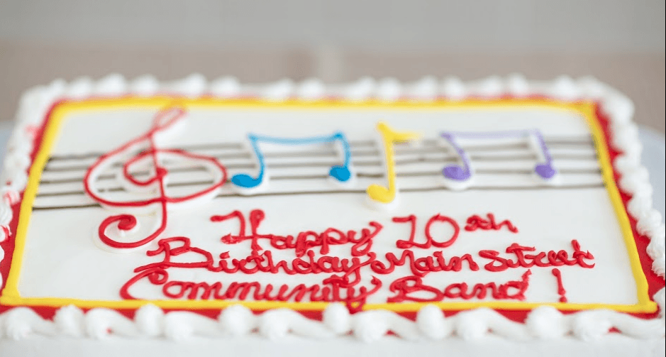 Main Street Community Band 10th Birthday Celebration