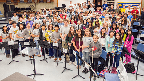 Sign up for Northern Virginia Youth Winds 2019-2020 Season
