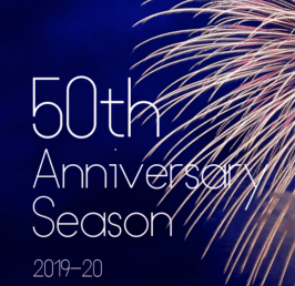 2019-2020 50th Anniversary Concert Season Tickets on Sale Now!