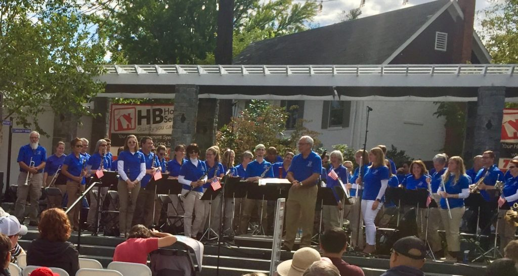 Main Street Community Band at the Fairfax Fall Festival