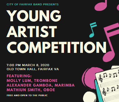 2020 Young Artist Competition Finalists Announced