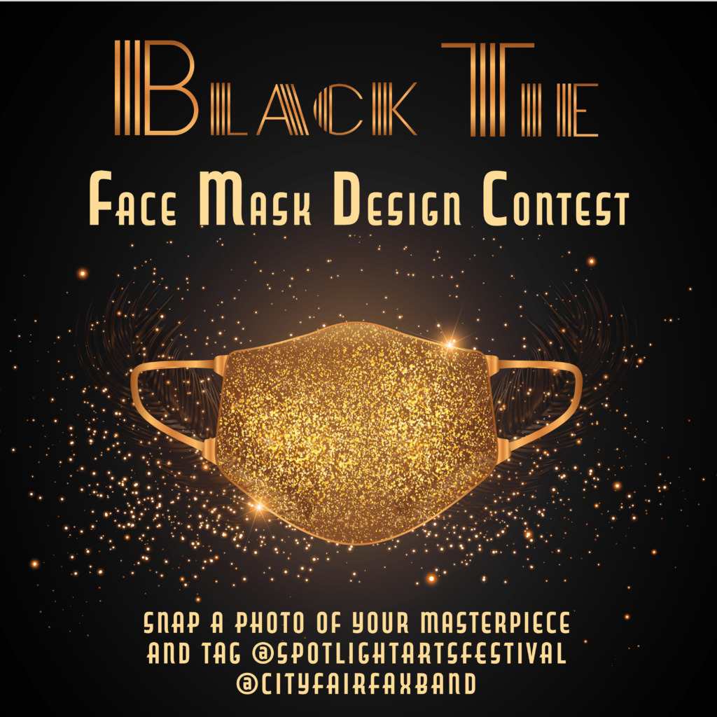 Enter Black Tie Face Mask Contest