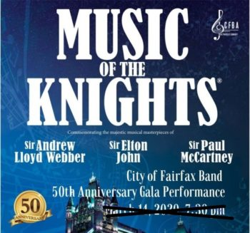 """Music of the Knights"" Concert Postponed"