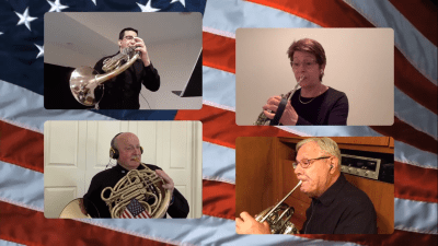 CFBA Observes Memorial Day with Virtual Concert