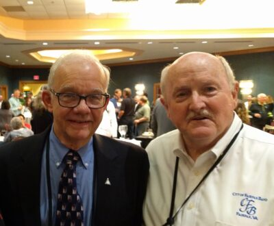 Jerry Brubaker and Roy Burgess
