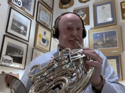 Roy Burgess Honored by Association of Concert Bands