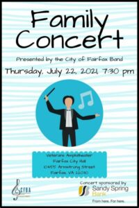 Family Concert poster